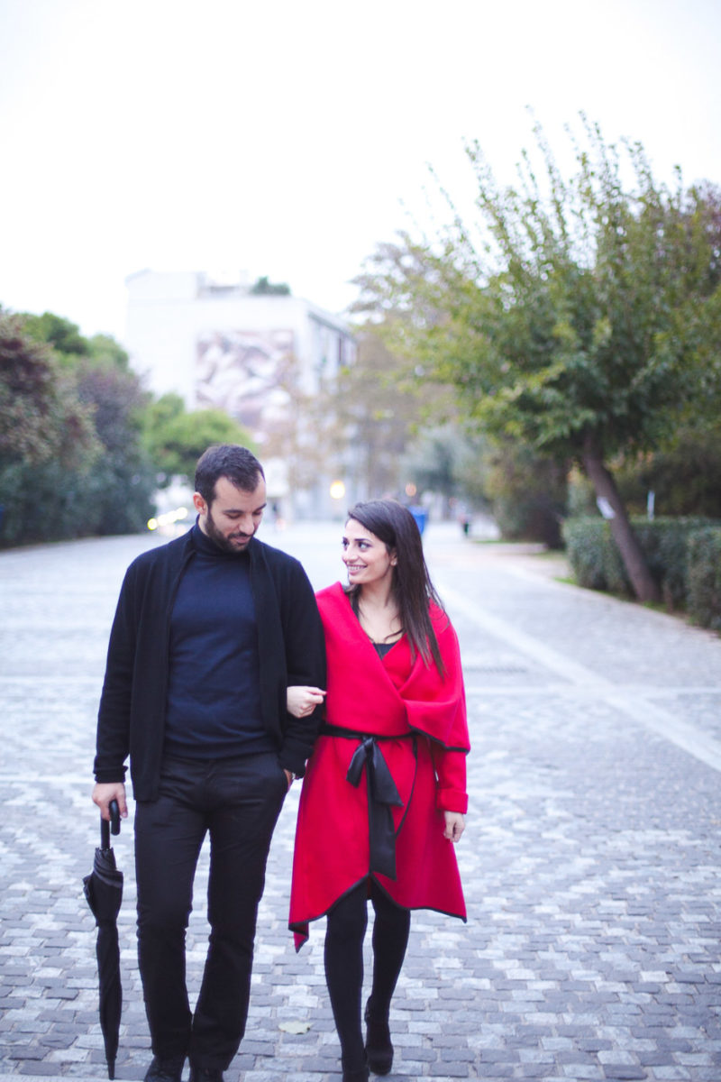 Φωτογράφηση πριν το Γάμο στην Αθήνα