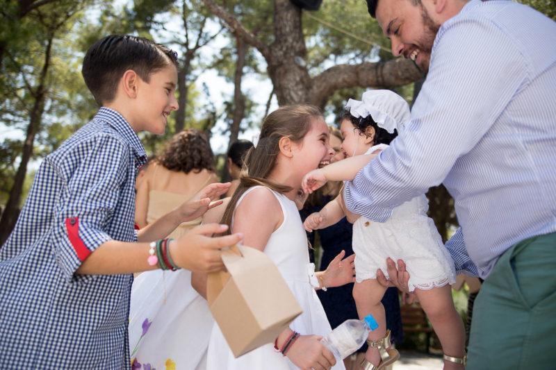 Φωτογράφηση Βάπτισης στο Καβούρι