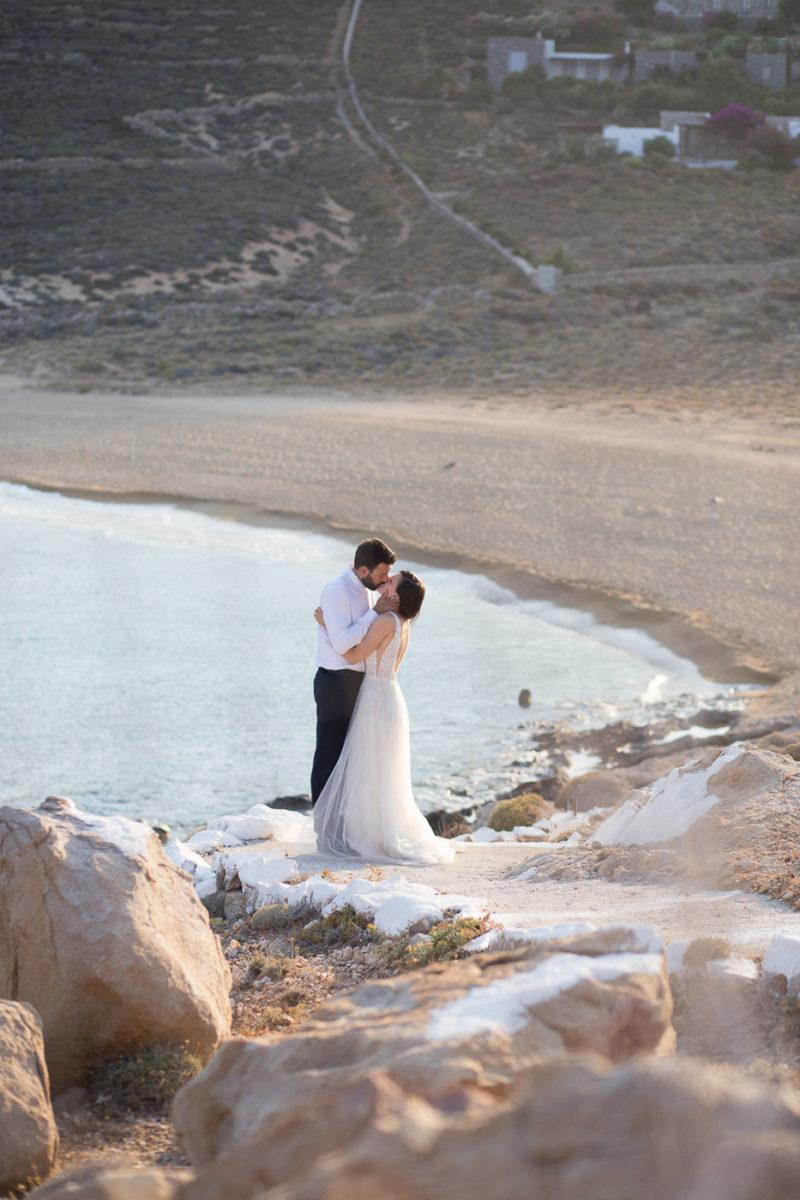 Ρομαντική next day φωτογράφηση στη Σέριφο