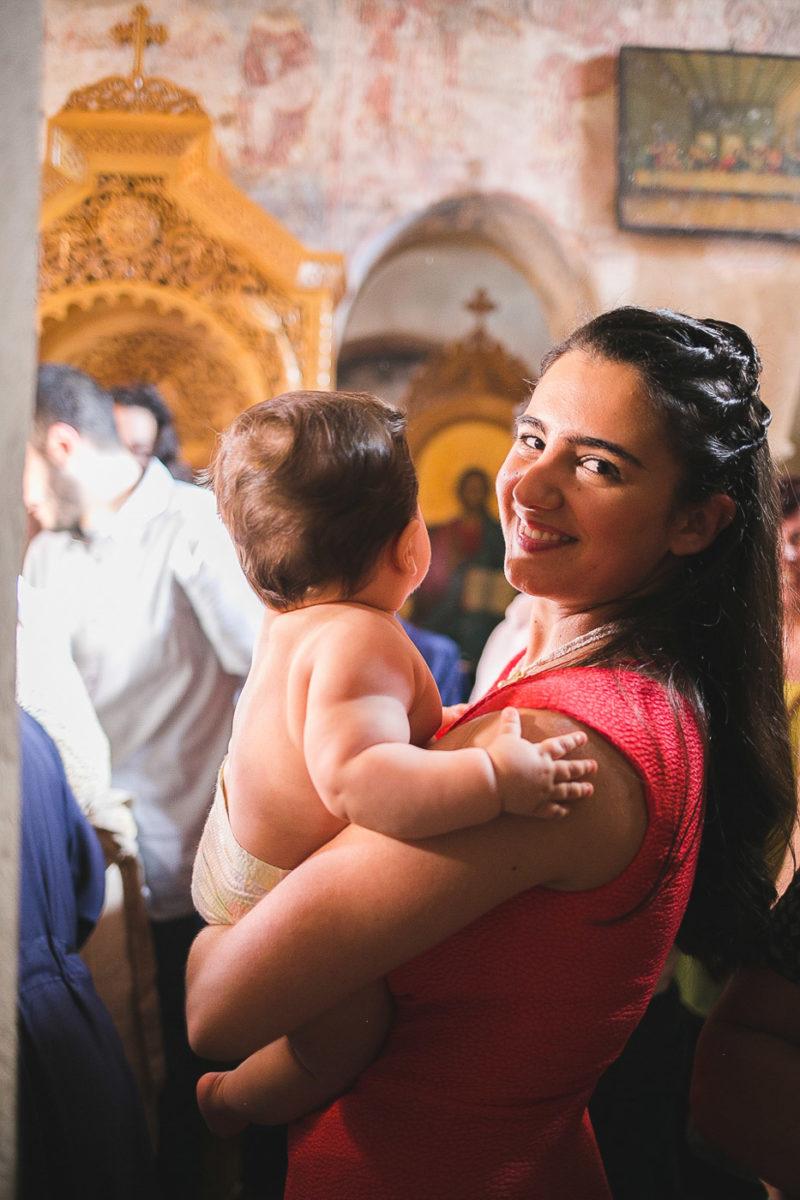 Φωτογράφηση Βάπτισης στη Σέριφο