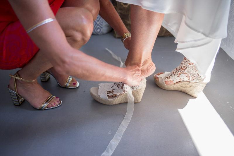Φωτογράφηση μποέμ γάμου στην Σέριφο