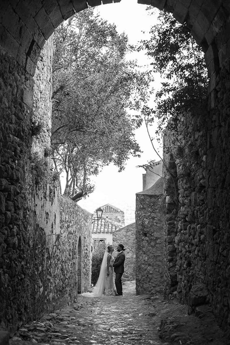 Φωτογράφηση γάμου Μονεμβασιά