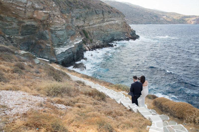 Next day φωτογράφηση γάμου στη Σίφνο