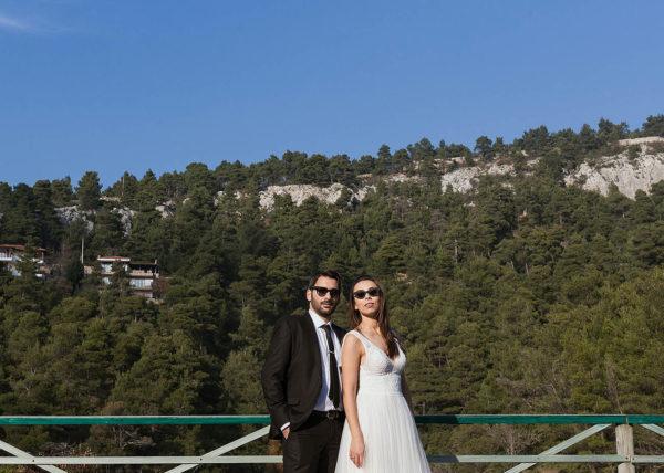 Χειμωνιάτικος Γάμος στην Αθήνα