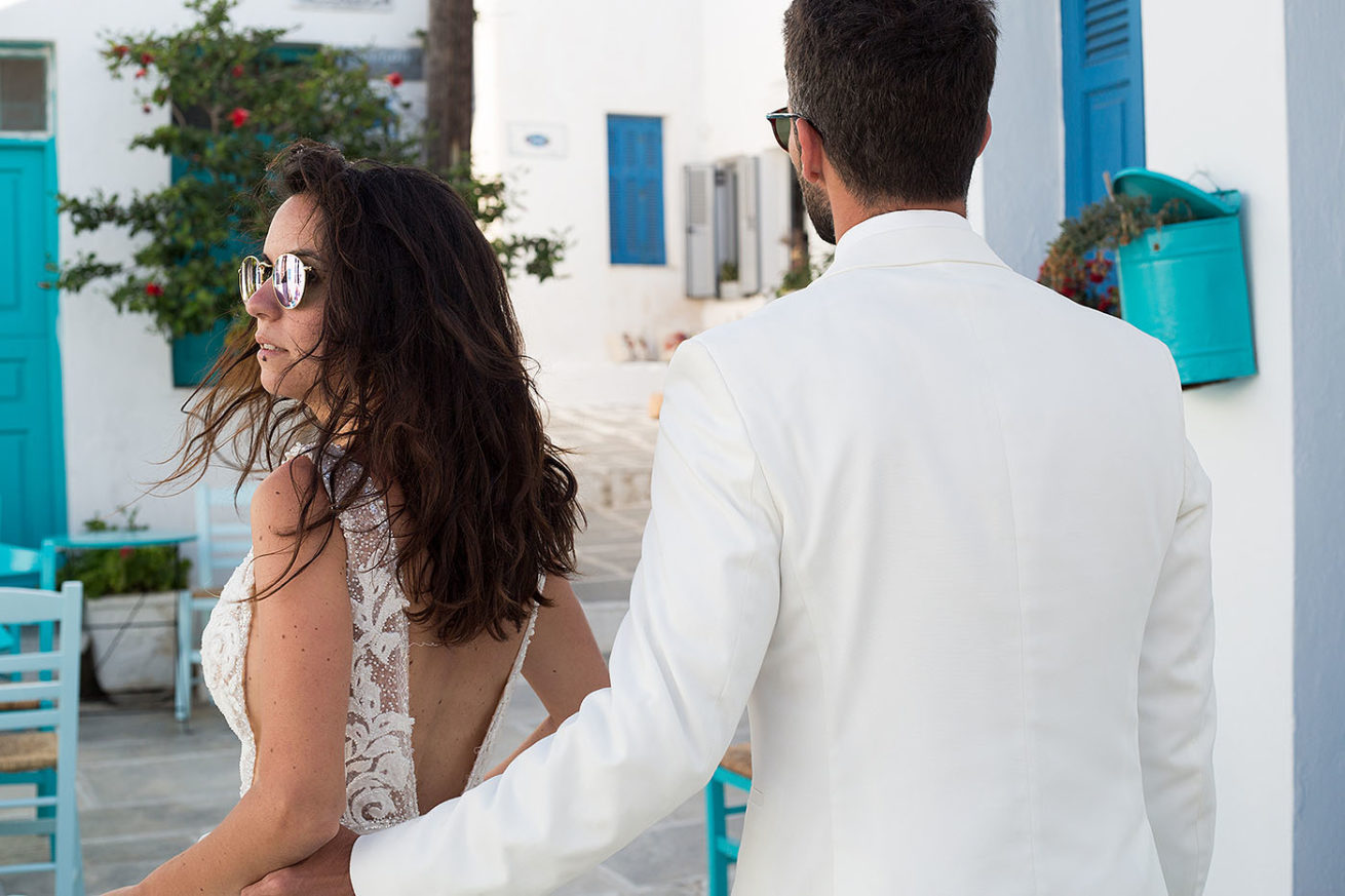 A summer marryoke wedding video in Serifos Greece