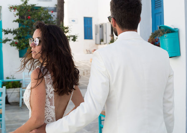 A summer marryoke wedding video in Serifos Greece